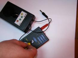 Calibration Checker with AR-7 Wrist Strap Tester